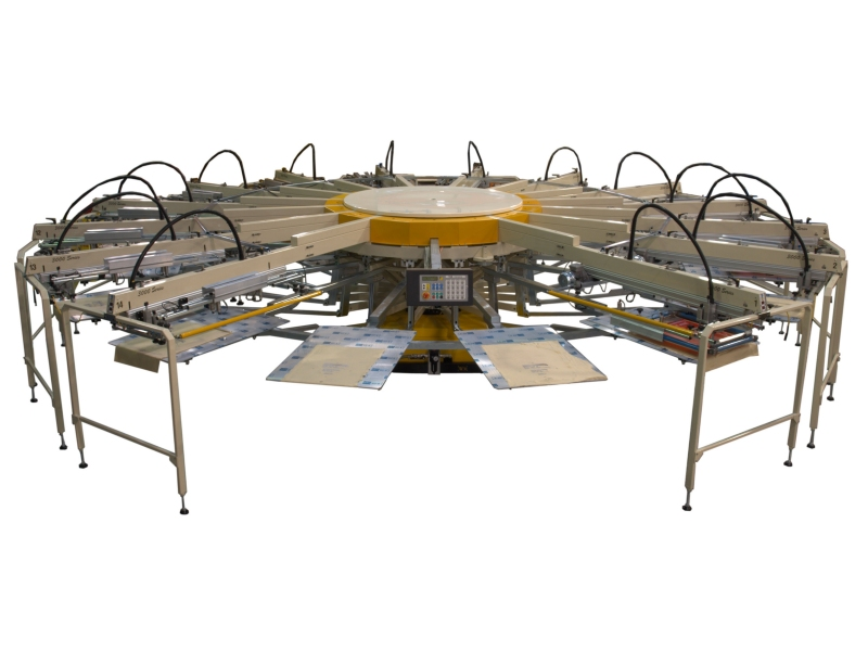 3000-3X Series Screen Printing Machine
